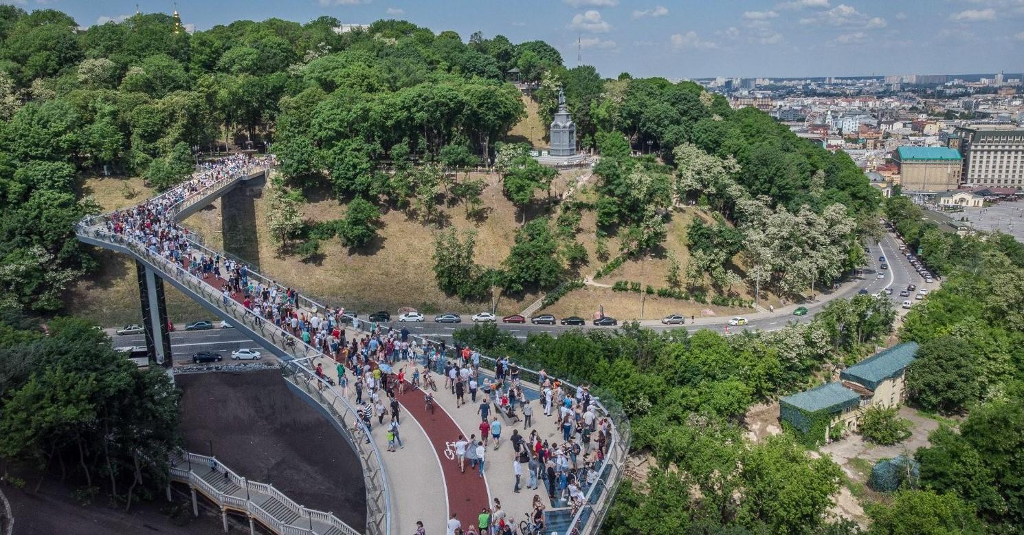 мост в Киеве