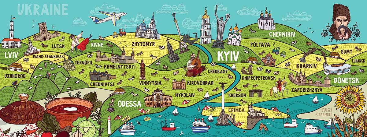 ukraine map travel